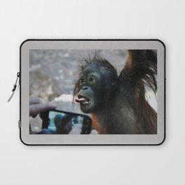Baby Orangutan Laptop Sleeve