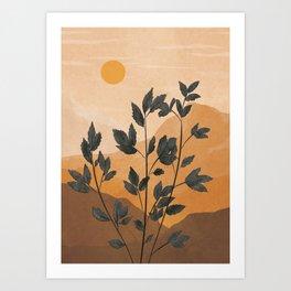 Plant Under a Dune Art Print