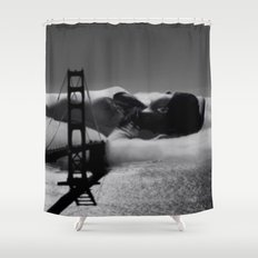 lovely view Shower Curtain