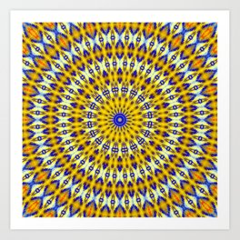 Yellowzer Art Print