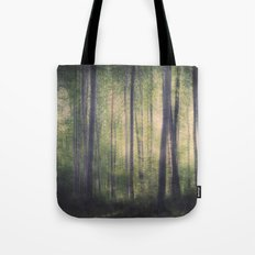 In the woods of Mournton Combs Tote Bag