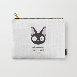 All you need is love and meow! Carry-All Pouch