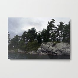 Pointe Au Baril Metal Print