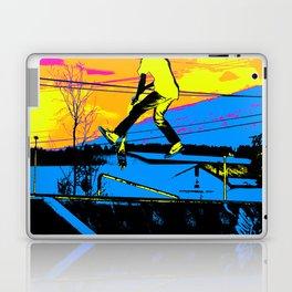 """Air Walking""  - Stunt Scooter Laptop & iPad Skin"