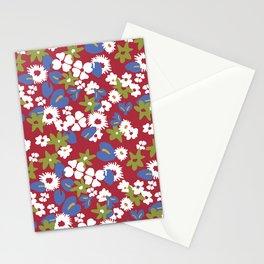 Modern bold liberty print Stationery Cards