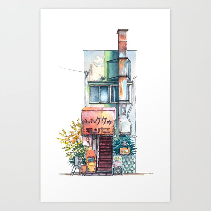 Tokyo storefront #09 Kunstdrucke