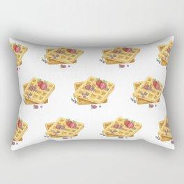 Waffles Rectangular Pillow