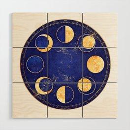 Celestial Atlas :: Lunar Phases Wood Wall Art
