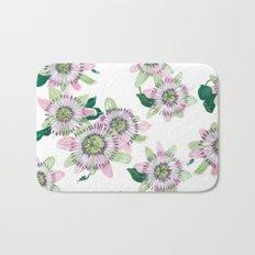 Passion flower Bath Mat