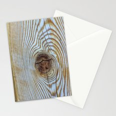 Wooden Knot Texture Stationery Cards