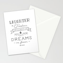 Laughter is Timeless Stationery Cards
