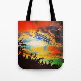 Popsicle Sky Tote Bag