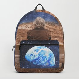 PLANET EARTH, THE UNIVERSE AND I Backpack