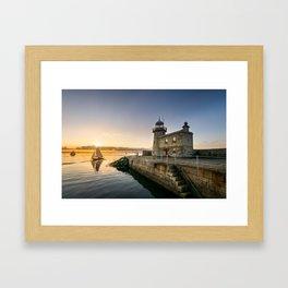 Howth sunset - Ireland  (RR64) Framed Art Print