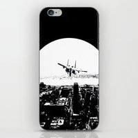 airplane iPhone & iPod Skins featuring airplane by Anand Brai