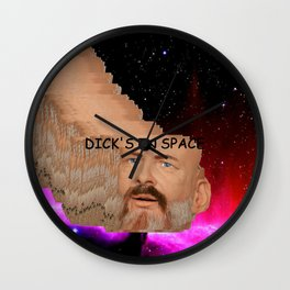 Dick's In Space Wall Clock