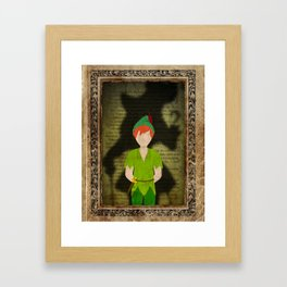 Shadow Collection, Series 2 - Lost Boy Framed Art Print