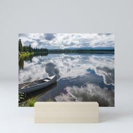Tranquility At Its Best - Alaska Mini Art Print