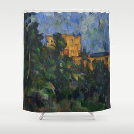 "Paul Cezanne ""Château Noir"", 1903-1904 Shower Curtain"