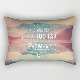 Adventure&Mountain Rectangular Pillow