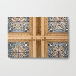 Teal x Gold X Washington DC architecture Metal Print