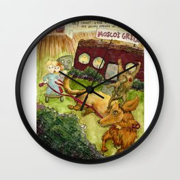 They Caught a Ride Wall Clock