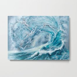 Spirits of the Sea Metal Print