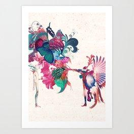 MIDSUMMER NIGHT - BLOSSOM Art Print