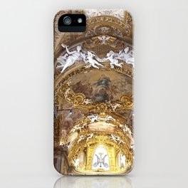 Santa Maria dell'Orto Church, Rome, Italy iPhone Case