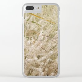 Florida: Blooming Palm Tree Clear iPhone Case