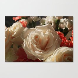 Opened by Candlelight Canvas Print