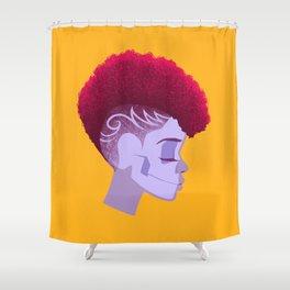See Through Girl 5 Shower Curtain
