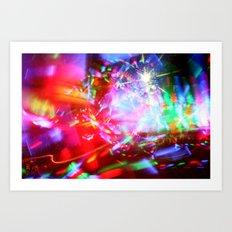 Lights Show Art Print
