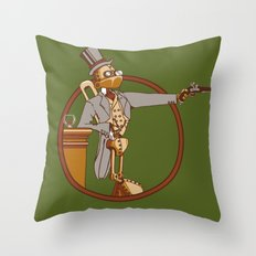 The Windup Duelist Throw Pillow