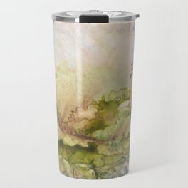 Summertime at Point Aux Barq Travel Mug