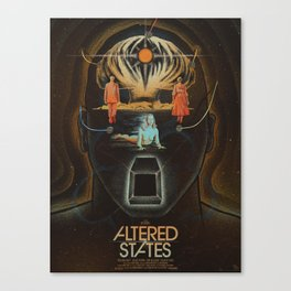 Altered States alternative movie poser Canvas Print
