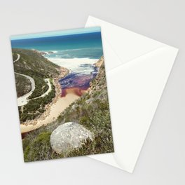 Goukamma river mouth Stationery Cards