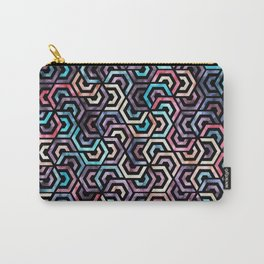 Seamless Colorful Geometric Pattern XXII Carry-All Pouch
