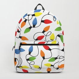 Endless Christmas Lights Backpack
