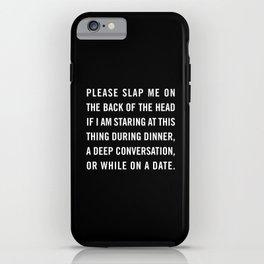 Smartphone slap iPhone Case