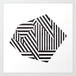 Dazzle 01. Art Print