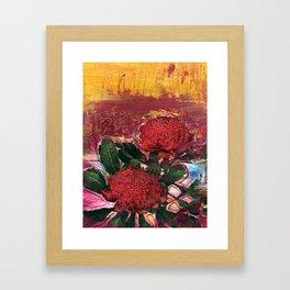 Waratah Dreaming Framed Art Print