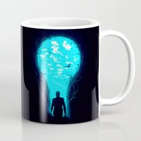 carpe Mugs featuring Bright Side by nicebleed