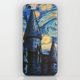 Hogwarts Night iPhone Skin