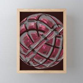 3D Fancy Ball / GFTFancyBall026 Framed Mini Art Print