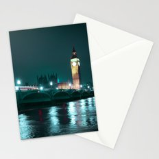 Big Ben and Houses of Parliament, Aquamarine Stationery Cards