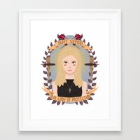 heymonster Framed Art Prints featuring Buffy Summers by heymonster
