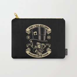 BEING A TRUE GENTLEMAN NEVER GOES OUT OF FASHION Carry-All Pouch