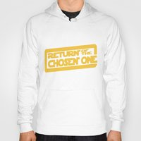 lebron Hoodies featuring Return of the Chosen One by JohnLucke