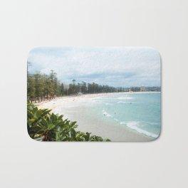 Manly Beach, Australia Bath Mat